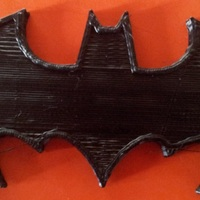 Small Oldschool Batman magnet 3D Printing 17577