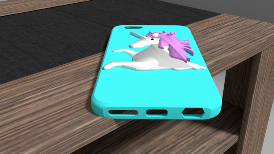 unicorn iphone 6 case 3D Print 175910