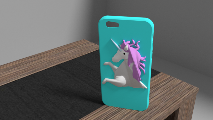 unicorn iphone 6 case 3D Print 175911