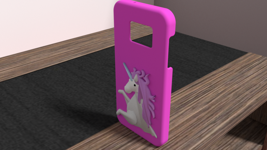 unicorn case samsung galaxy s7 3D Print 175917