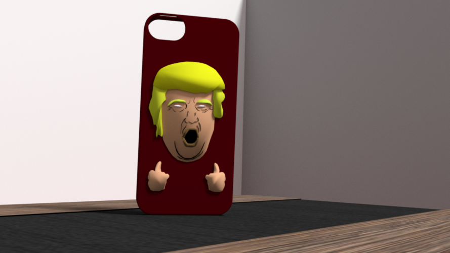 american president case iphone 5 3D Print 175945
