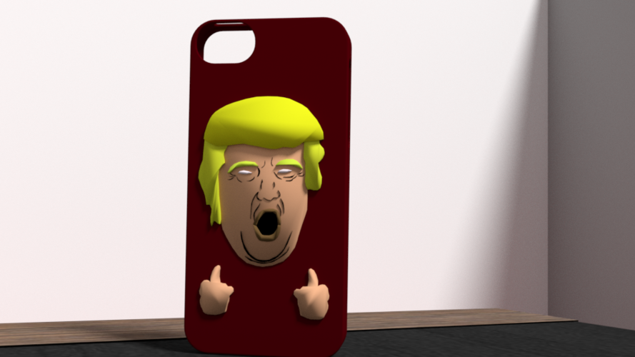 american president case iphone 5 3D Print 175946