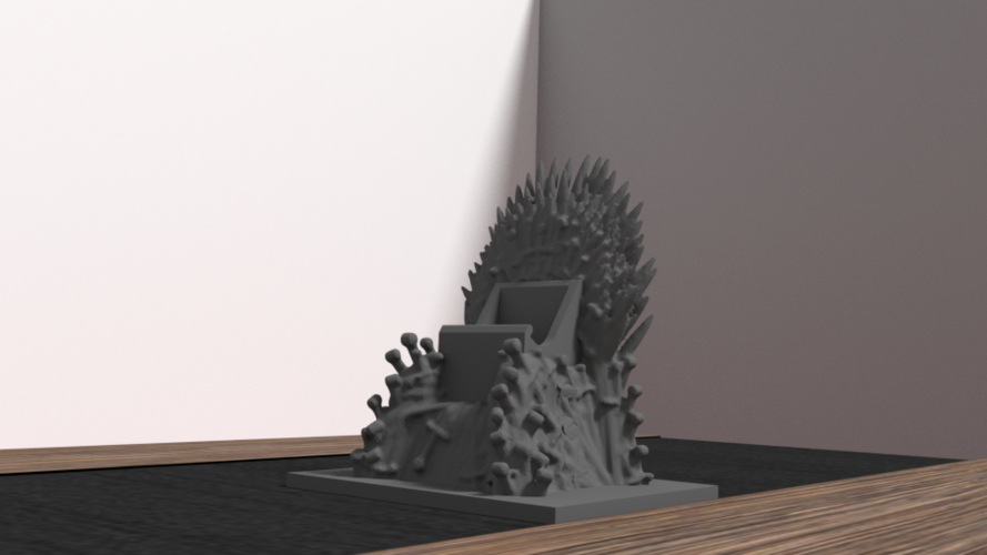 throne for iphone 6 3D Print 175957