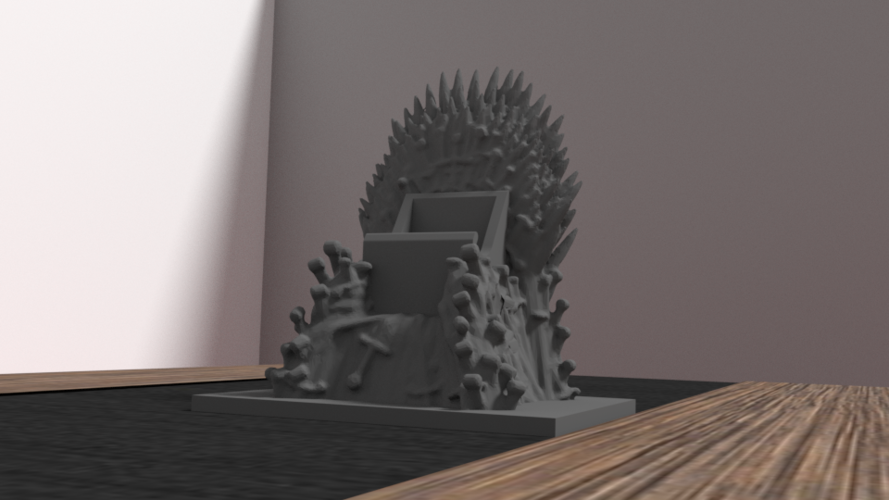 throne for iphone 6 3D Print 175958