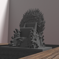 Small throne for iphone 6 3D Printing 175958