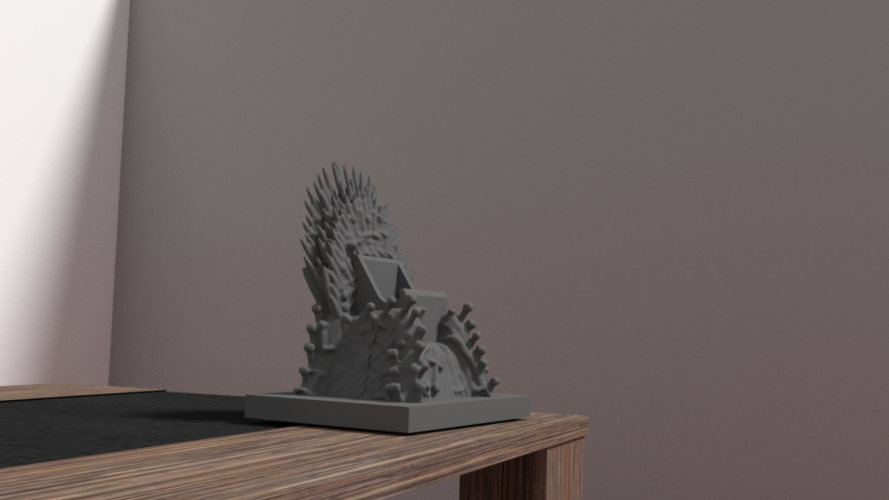 throne for iphone 6 3D Print 175959