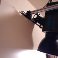Small Cabinet Camera/Light holder 3D Printing 176190