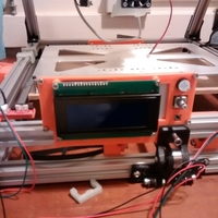 Small Smart LCD Holder 3D Printing 176194