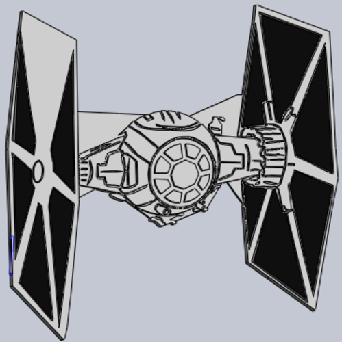 Star Wars Tie Fighter  3D Print 176215