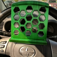 Small Steering Wheel Phone Stand 3D Printing 176384