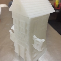 Small Haunted house _ Dish 3D Printing 176390