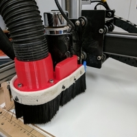 Small Shapeoko / Xcarve Dust Shoe 3D Printing 176407