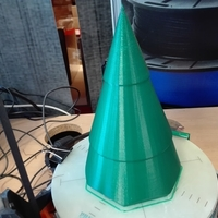 Small Xmas Tree with RGB Led's 3D Printing 176494