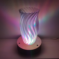 Small Wave Lamp 3D Printing 176529