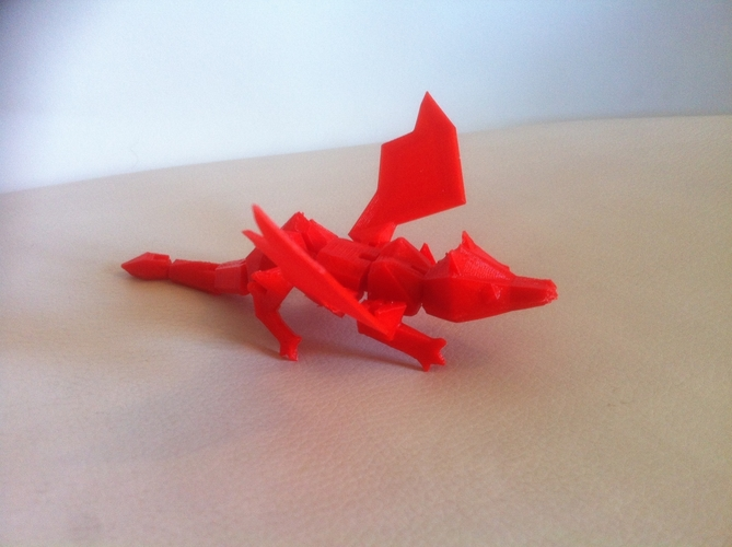 My Pet Dragon - Jointed - No support 3D Print 176790