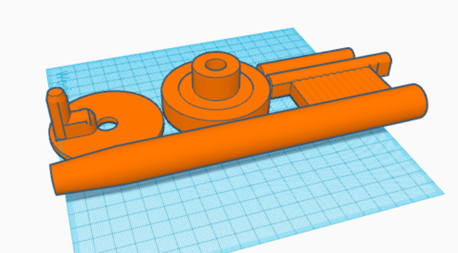 Fishing rod/reel 3D Print 177063