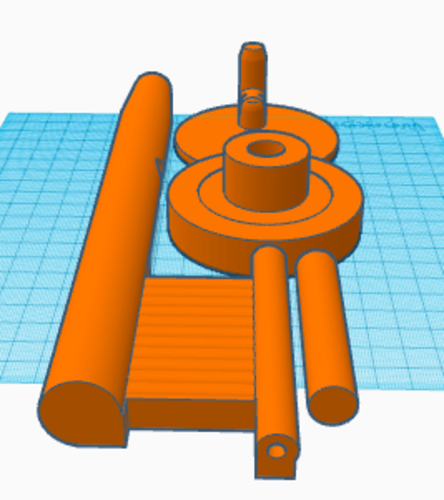 Fishing rod/reel 3D Print 177065