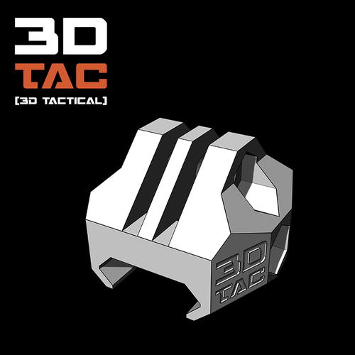 3DTAC / GoPro Clip for Airsoft Rails 3D Print 177087