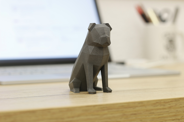 Medium Low-poly Pug 3D Printing 177112