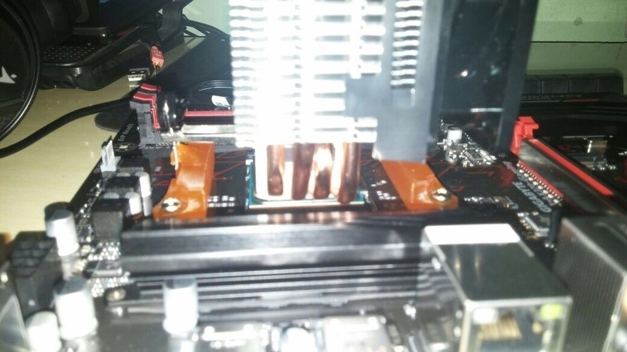 AMD3 to AMD4 cooler mount adapter 3D Print 177188