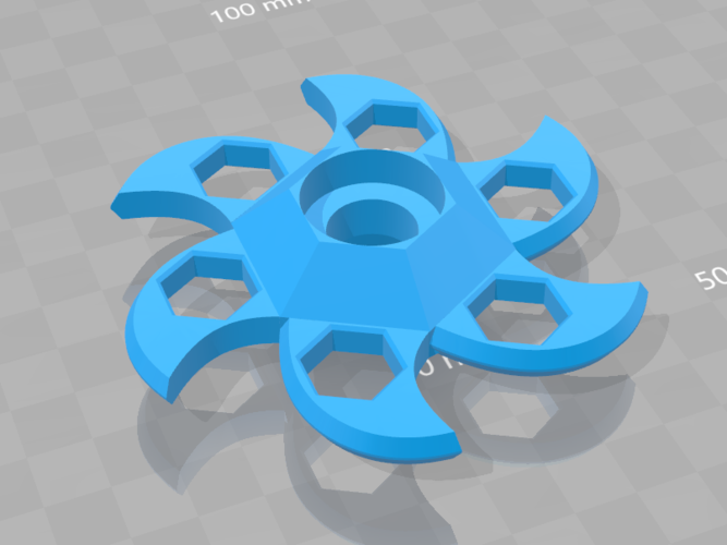 Bladed - Fidget spiner 3D Print 177220