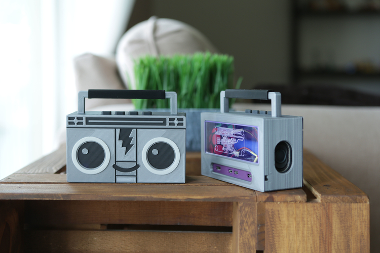 Raspberry Pi Airplay BoomBox 3D Print 177339
