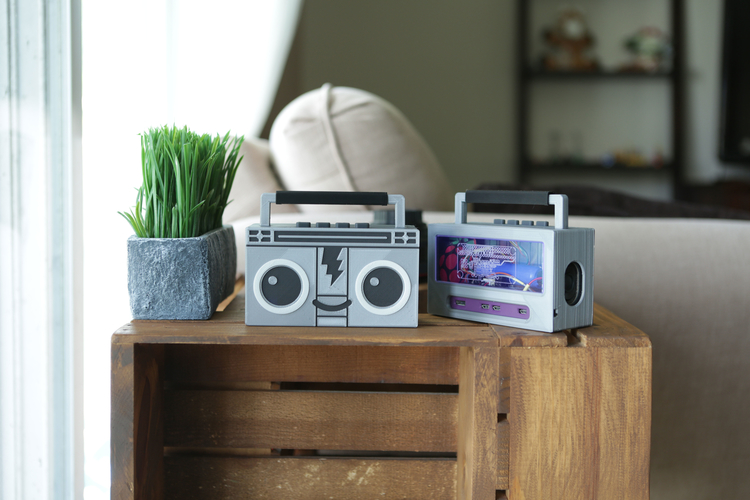 Raspberry Pi Airplay BoomBox 3D Print 177340