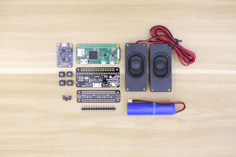 Raspberry Pi Airplay BoomBox 3D Print 177341
