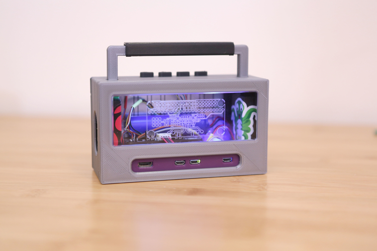 Raspberry Pi Airplay BoomBox 3D Print 177345