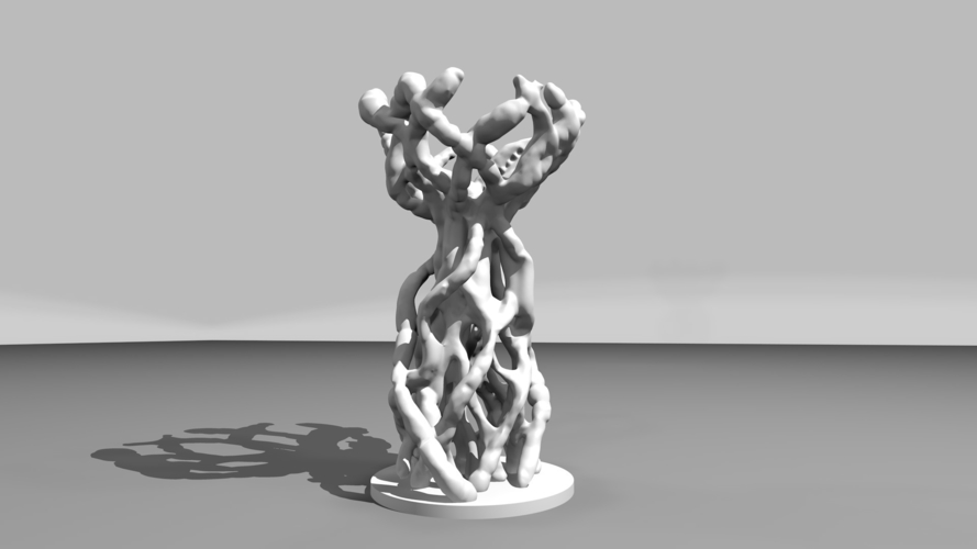 Organic Thing V2 - no support 3D Print 177505