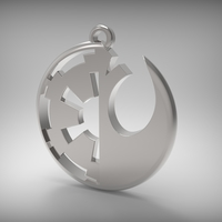 Small Galactic Empire vs Rebel Alliance 3D Printing 177607