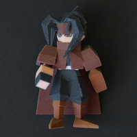 Small Vincent Low Poly 3D Printing 177690