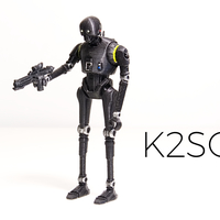 Small K-2S0. Improved version 3D Printing 177799