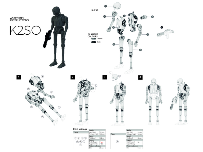 K-2S0. Improved version 3D Print 177802