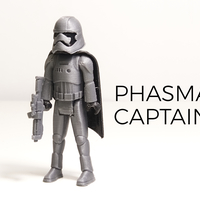 Small Phasma Captain 3D Printing 177804