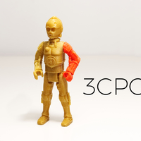Small C3PO 3D Printing 177805