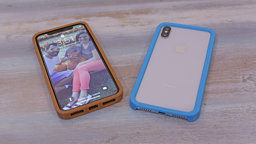 iPhone X Case  3D Print 177826