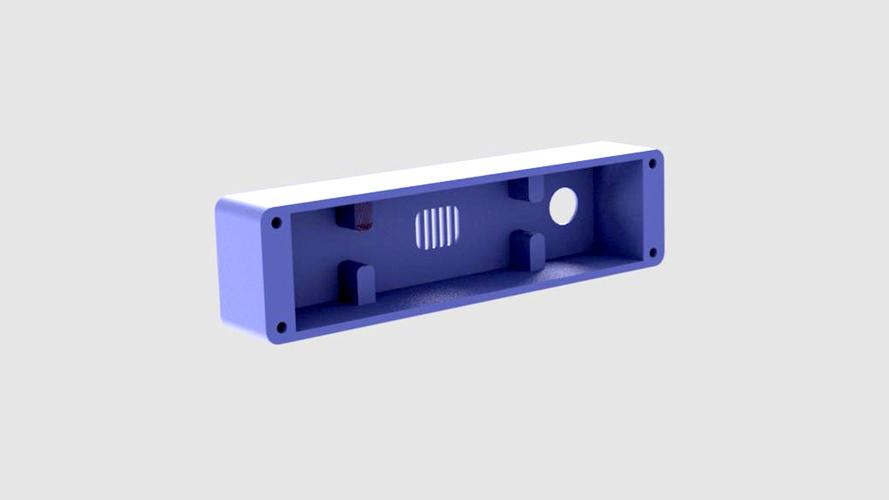 YOUTUBE SUBSCRIBER COUNTER CASE 3D Print 177836