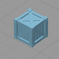 Small Wooden Crate 3D Printing 177864
