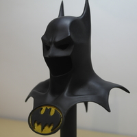 Small Batman mask 3D Printing 178064