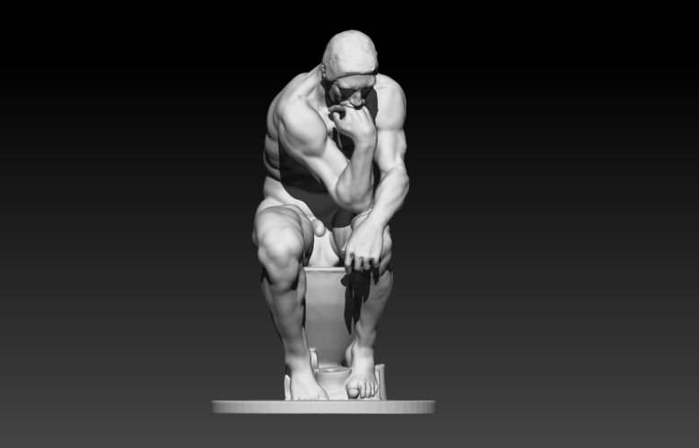 The New Thinker 3D Print 178175