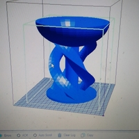 Small Twisted Candy dish 3D Printing 178224