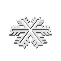 Small Christmas Snowflake Ornament_1 3D Printing 178378