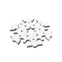 Small Christmas Snowflake Ornament_3 3D Printing 178380