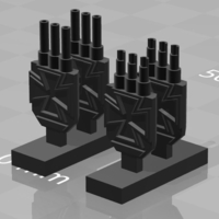 Small Iron Cross Turrets 3D Printing 178383