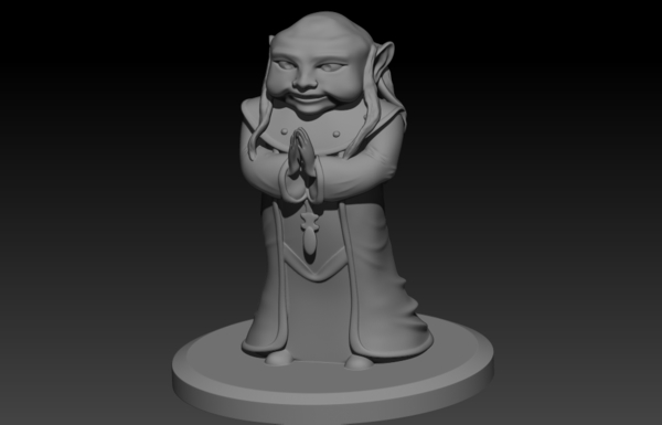 Medium Dungeon Master 3D Printing 178385