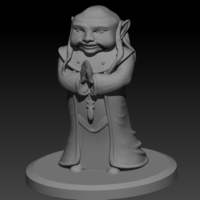 Small Dungeon Master 3D Printing 178385