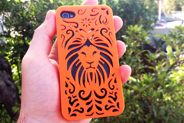 Tribal Lion Iphone Case 4/4s 3D Print 178405