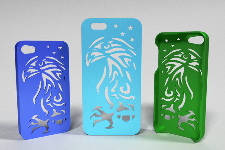 American Eagle Iphone Case 5/5s 3D Print 178416