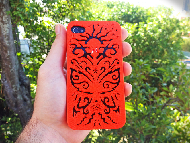 Butterfly Iphone Case 4/4s 3D Print 178436